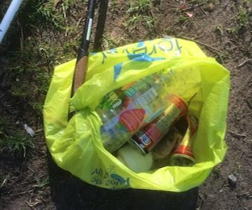 Sample of Rubbish Found on Bennachie